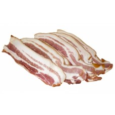 Green streaky bacon